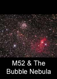 M52 & The Bubble Nebula