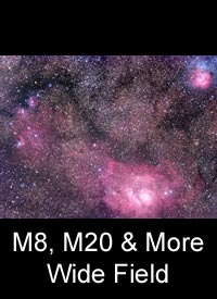 M8, M20, & More Wide Field